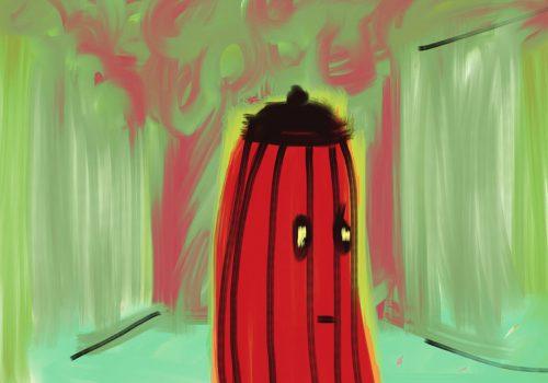Komkommer | IPadtekening