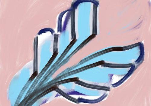 Windvlaag | IPadtekening