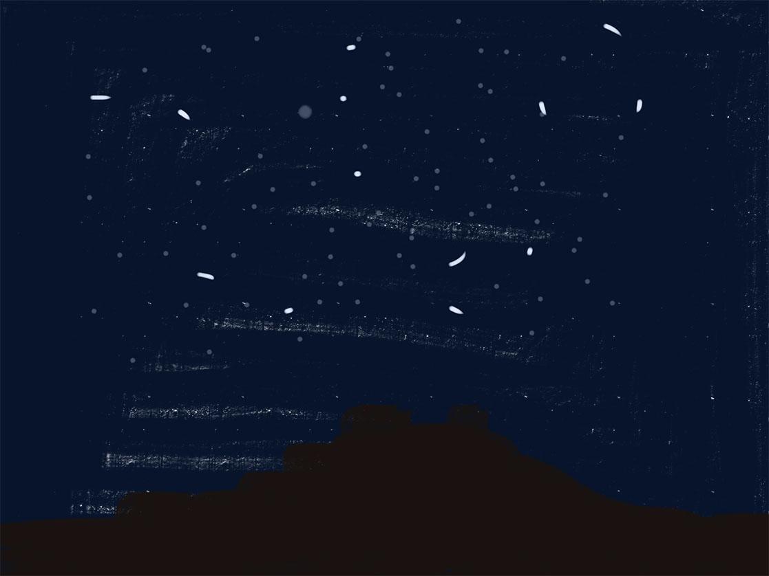 Nacht | IPadtekening